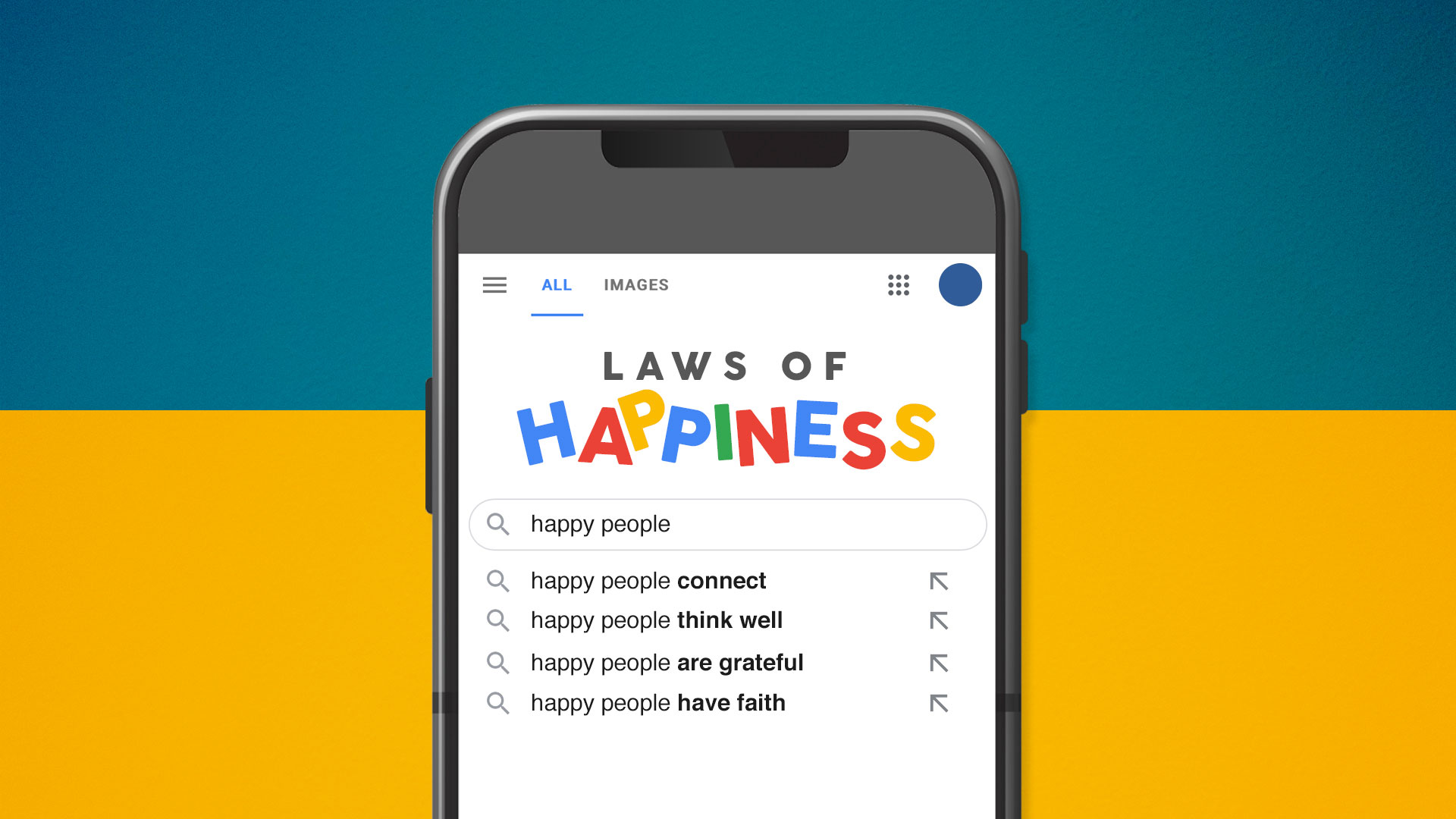 Happy People Think Well